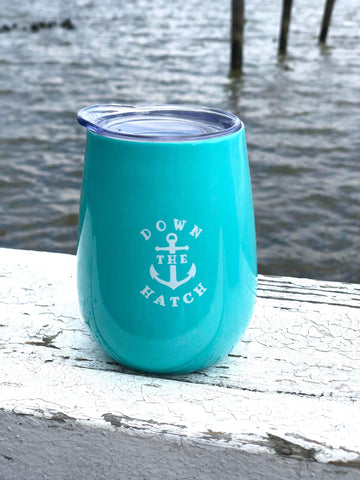 Lucky Knot Tumbler Down The Hatch - Teal