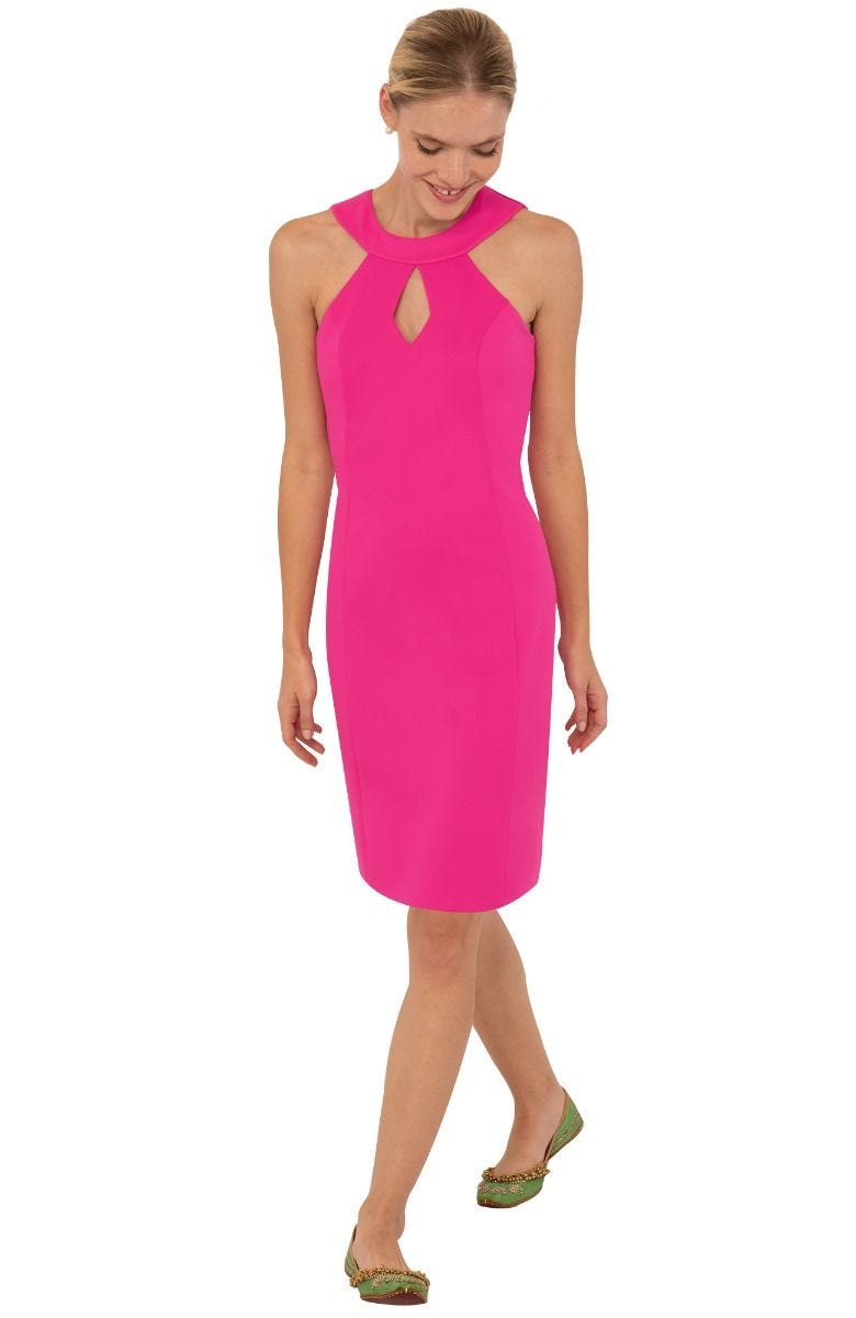 Gretchen Scott Sublime Dress - Solid Pink