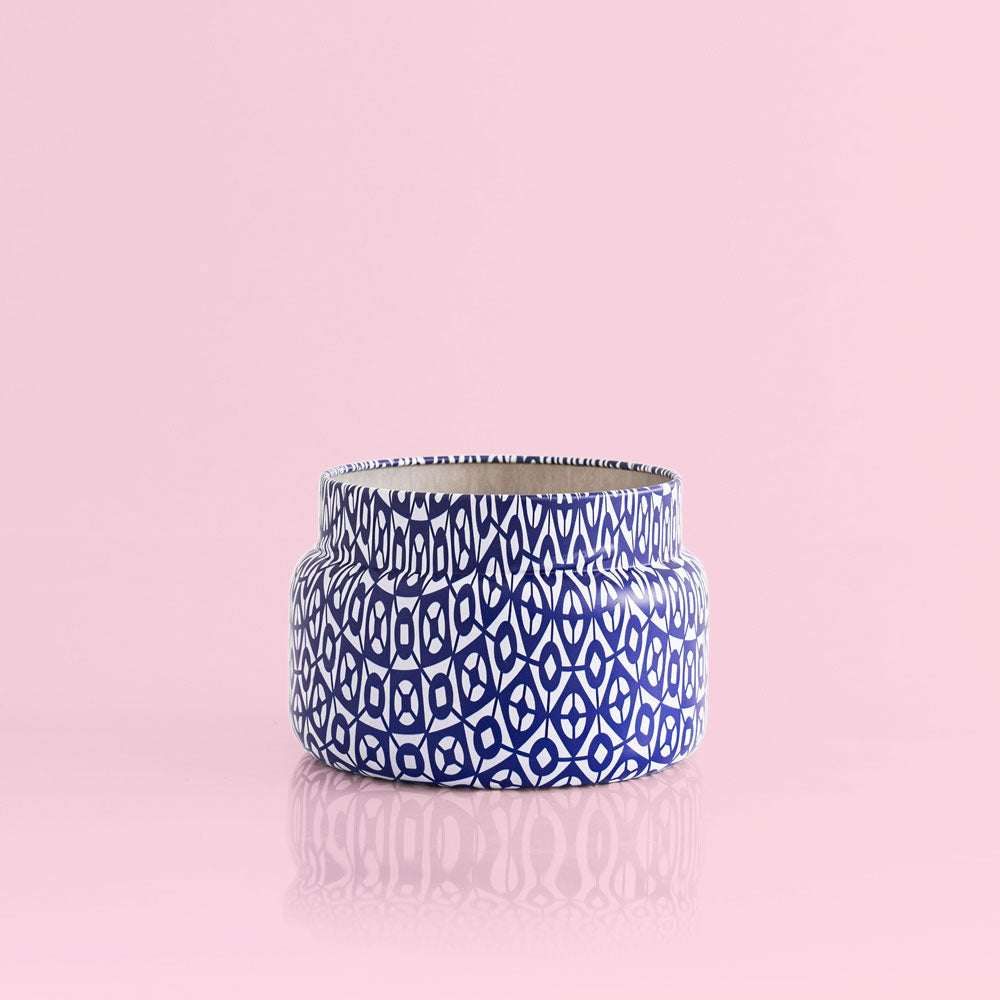 Capri Blue - Blue Jean Signature Printed Travel Tin Candle