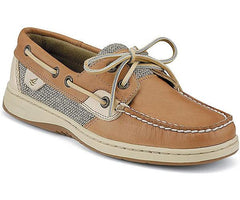 Sperry Women's Bluefish 2 Eye Linen Oat by Sperry Top-Sider from THE LUCKY KNOT - 1