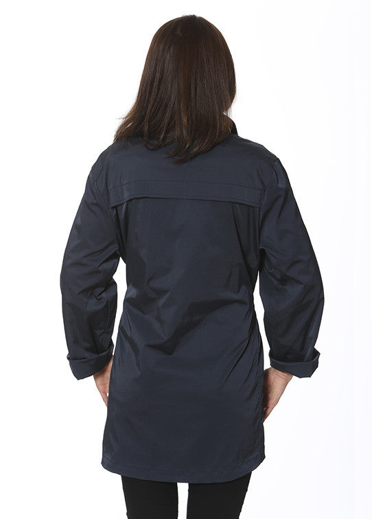 Ciao Milano Tess Anorak Jacket in Navy by Ciao Milano from THE LUCKY KNOT - 2