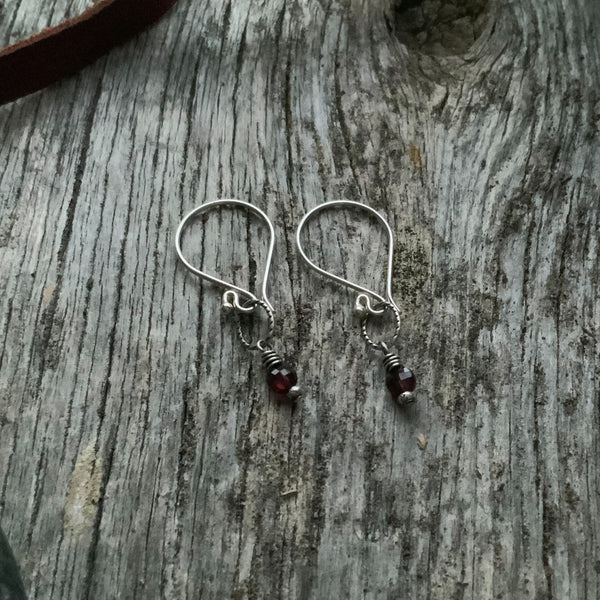 Margo's Silver and Stone Earring