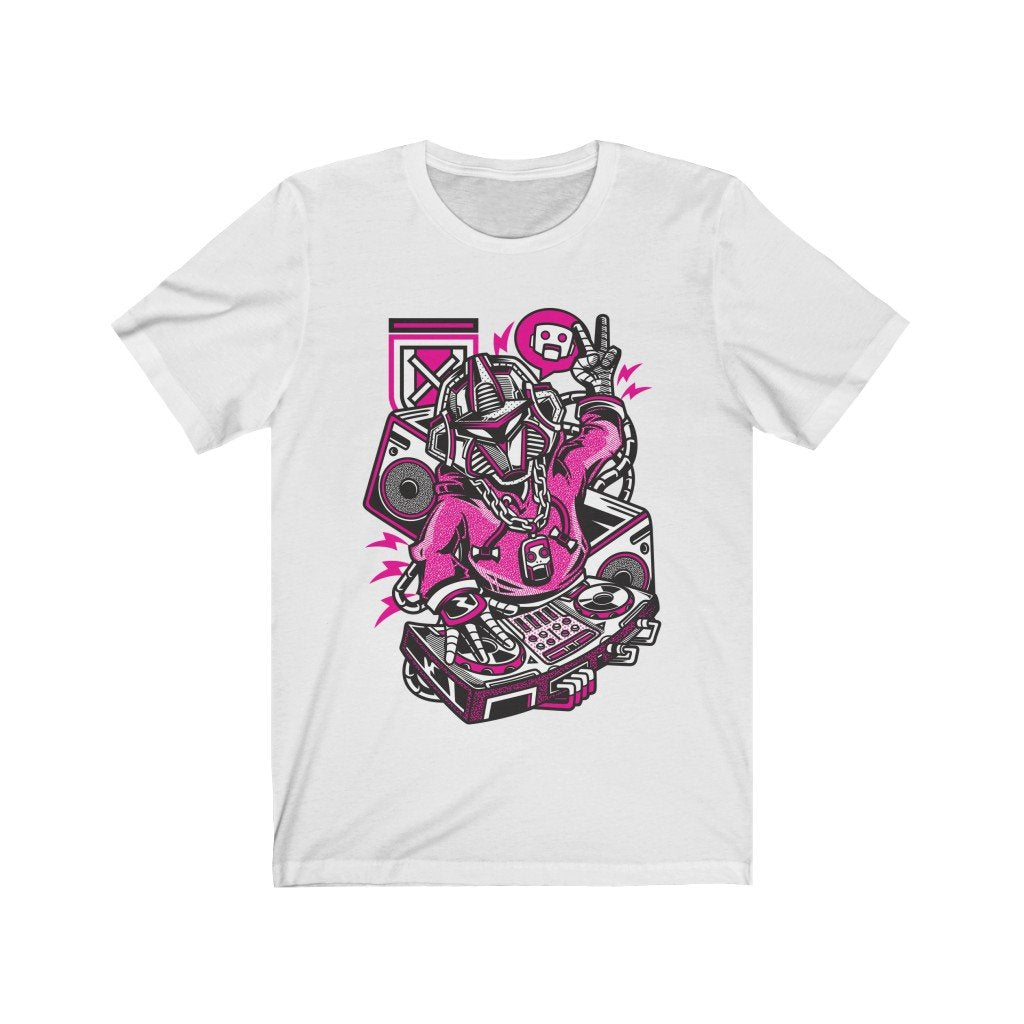 Beats Robot DJ illustrational design