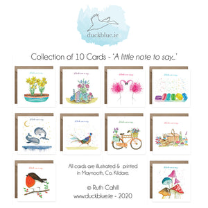 10 Card 'A little note to say...' Box Collection Vol. 2.