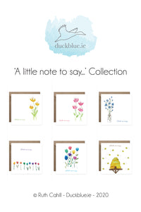 'A little note to say...' Collection