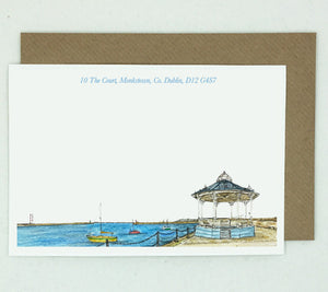 Dun Laoghaire Bandstand Notelets - Box of 20