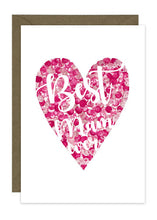 Load image into Gallery viewer, Best Mum Pink Heart