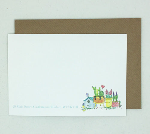 Birdhouse Notelet - Box of 20