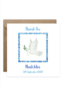 Thank You Pack - 6 Personalised Cards
