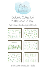 Load image into Gallery viewer, Botanic Collection - A little note to say...