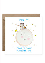 Load image into Gallery viewer, 50 Baby Thank You Cards