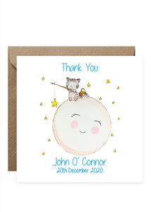 50 Baby Thank You Cards