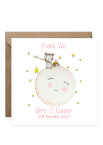 20 Baby Thank You Cards