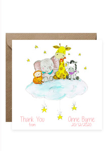 30 Baby Thank You Cards