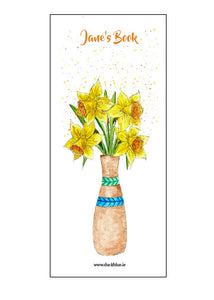 Daffodil Book Mark