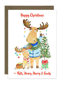 Personalised Christmas Card Collection