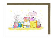 Load image into Gallery viewer, Mice Birthday Cake