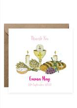 Load image into Gallery viewer, Thank You Pack - 6 Personalised Cards