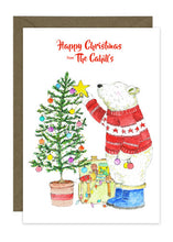Load image into Gallery viewer, Personalised Christmas Card Collection