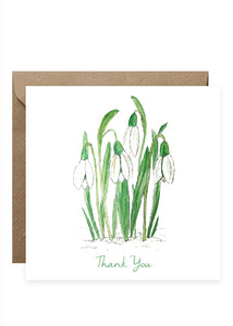 Thank You Cards - Mixed Flowers