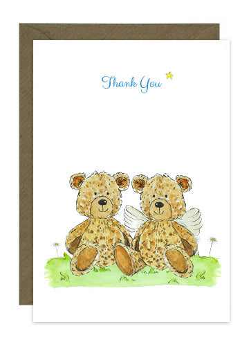 10 Thank You Cards - Various Options