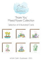 Load image into Gallery viewer, Thank You Cards - Mixed Flowers
