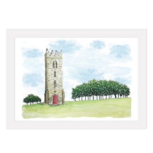 Carton House Tower Print