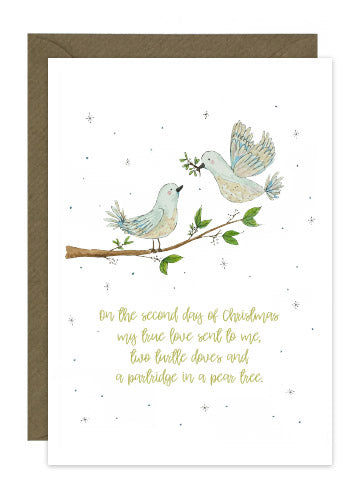 6 Turtle Dove Cards