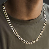 Solid Gold Curb Cuban Chain 9.5mm 24 inch Gold Gods®