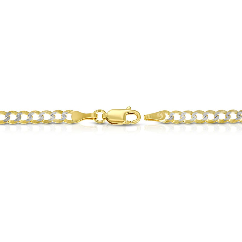 Solid Gold Pave Curb Cuban Chain Gold Gods® 2
