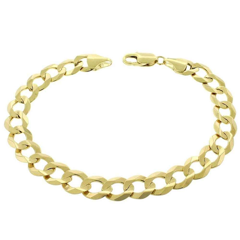 Solid Gold Curb Cuban Bracelet Gold Gods®