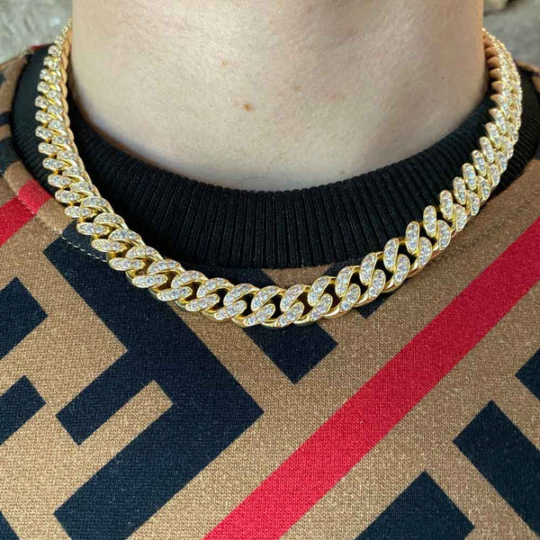 Diamond Miami Cuban Link Chain (10mm)