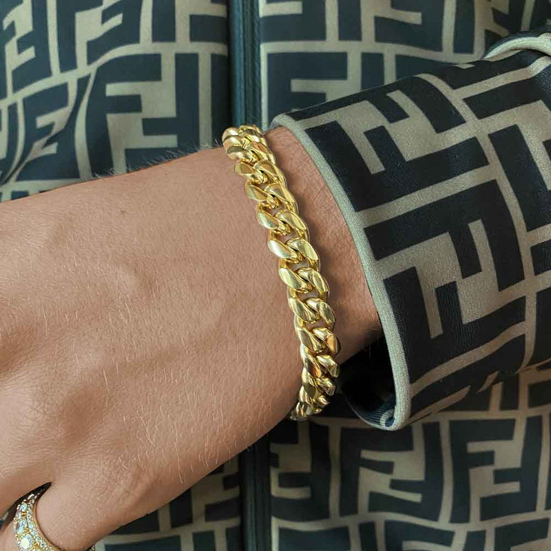 Miami Cuban Link Bracelet (10mm)
