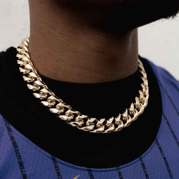 Miami Cuban Link Chain (18mm)