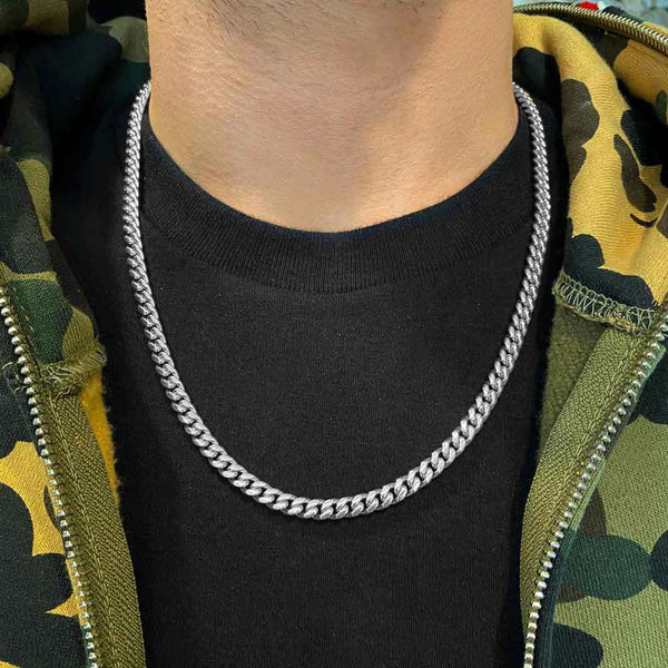 .925 Silver Miami Cuban Link Chain (6mm)