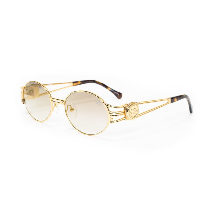 Fabolous X Gold Gods Ethos Sunglasses in Brown Gradient