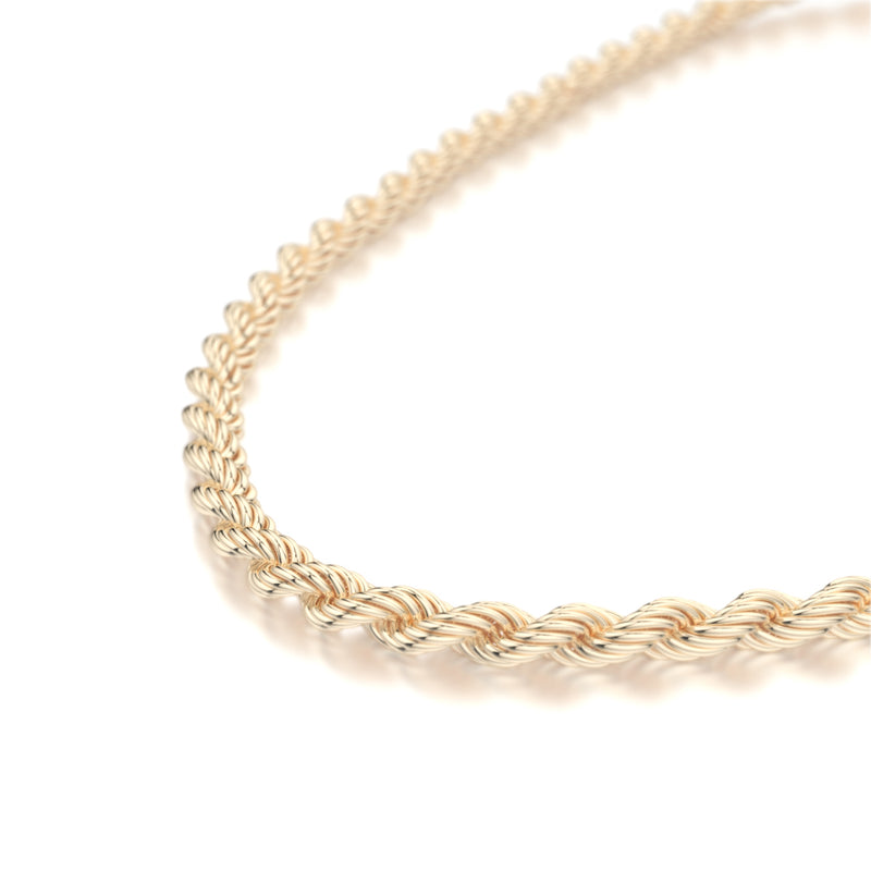Rope Gold Chain (2.5mm)
