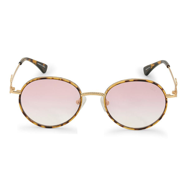 The Iris Sunglasses in Pink Gradient
