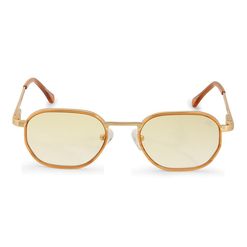The Hermes Sunglasses in Yellow Gradient