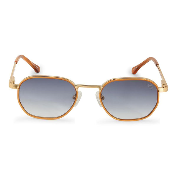 The Hermes Sunglasses in Blue Gradient