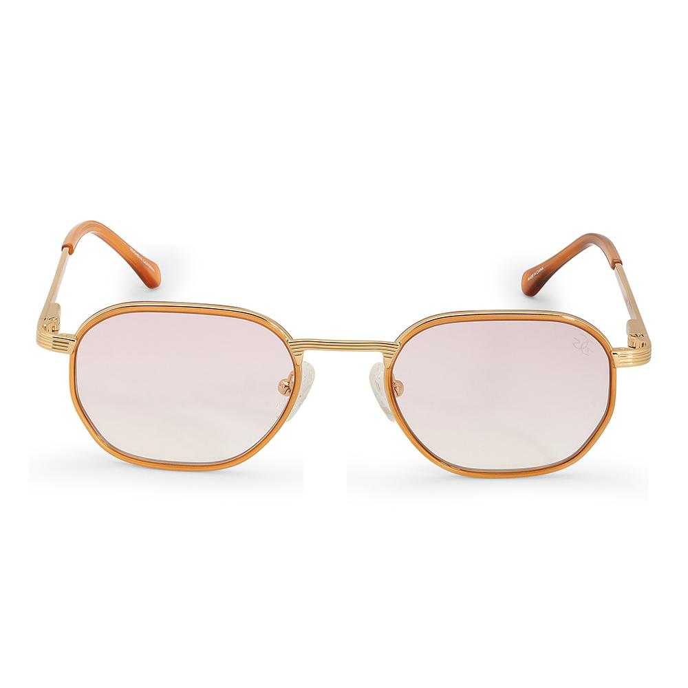 The Hermes Sunglasses in Pink Gradient