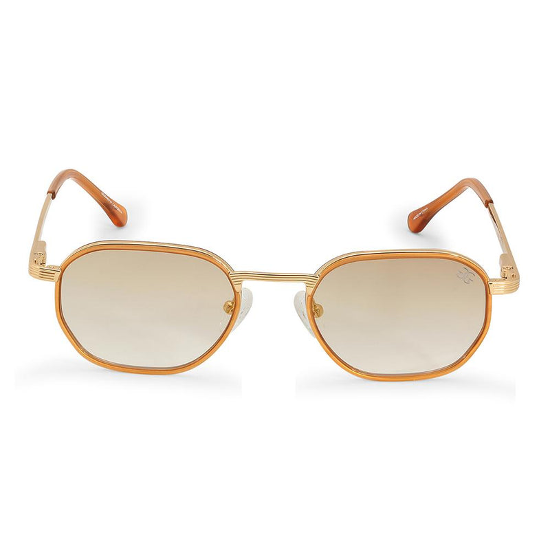 The Hermes Sunglasses in Brown Gradient