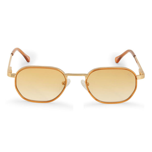 The Hermes Sunglasses in Orange Gradient