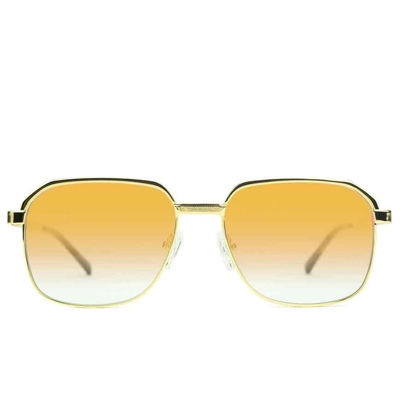 Apollo Orange Gradient Sunglasses Gold Gods