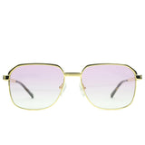 Apollo Pink Gradient Sunglasses Gold Gods