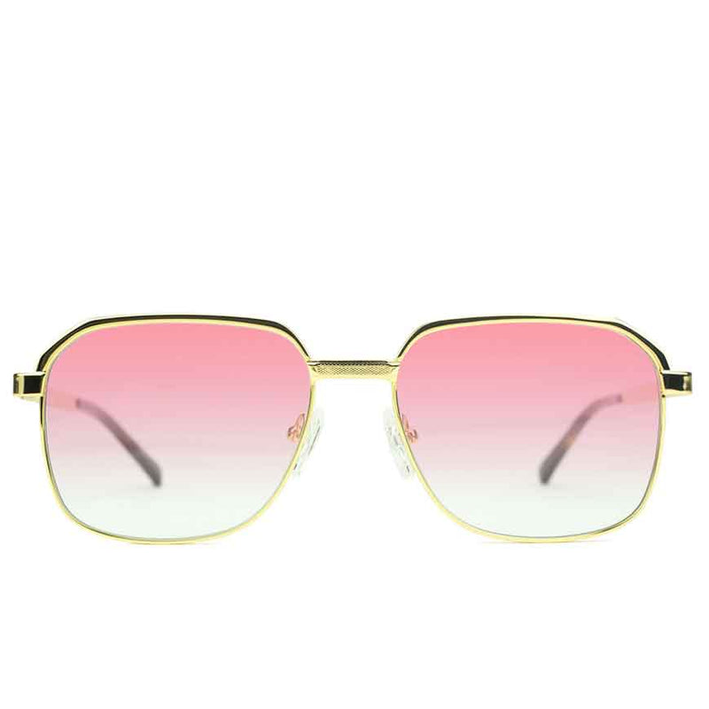 Apollo Red Gradient Sunglasses Gold Gods