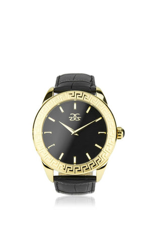 The Augustus Watch Leather Band in Gold