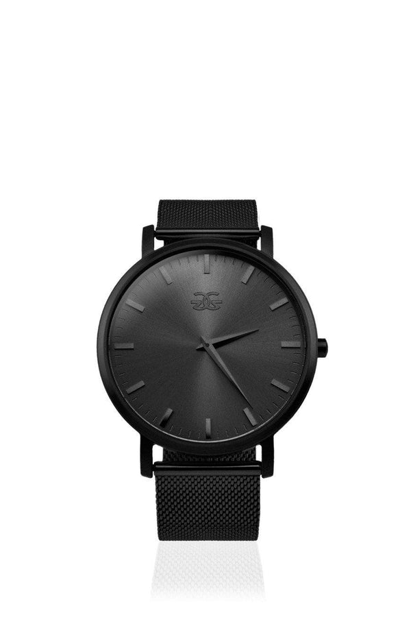 The Milanese Watch in Black