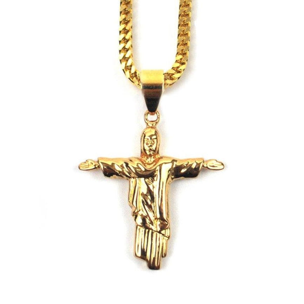 Christ The Redeemer Piece Necklace
