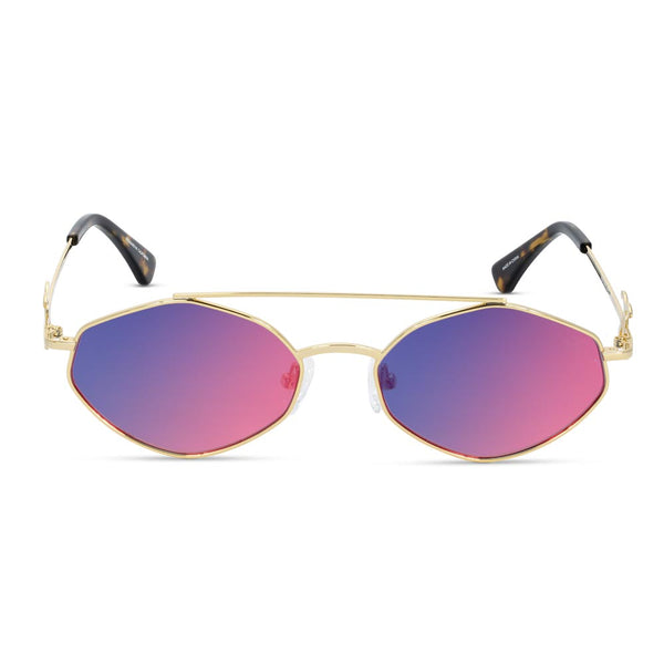 The Eros Designer Vintage Gold Sunglasses Gold Gods 4